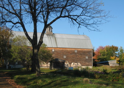 barn in late summer